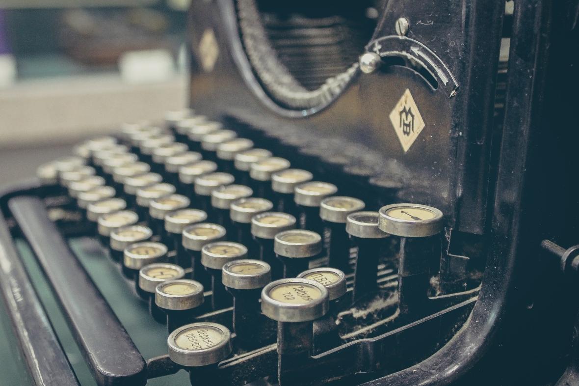typewriter color